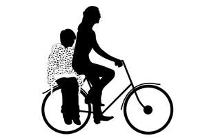 Seggiolino bicicletta Il seggiolino per la bicicletta
