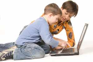 internet e i bambini e i pericoli della rete