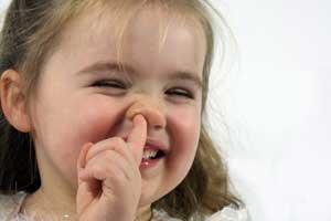 oggetti nel naso e orecchie