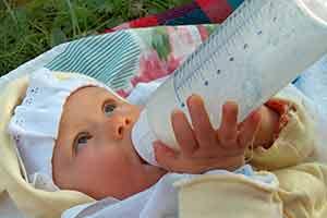 Rigurgito nel neonato