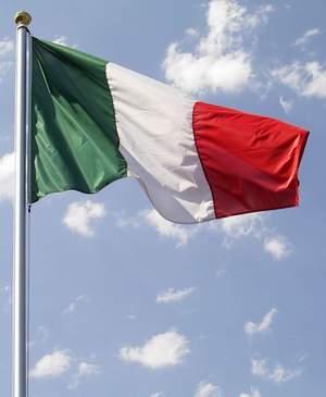 bandiera-italiana-asta